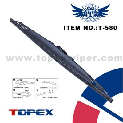 T-580 spoiler metal wiper blade