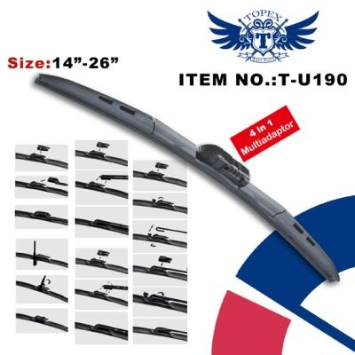 T-U190 (4 in 1) Multi-fit Hybrid wiper blade