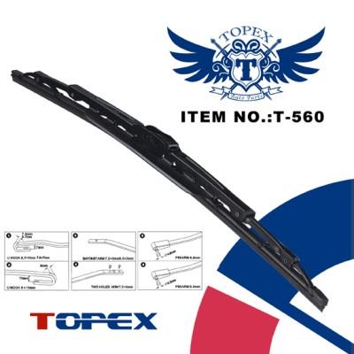 T-560 metal wiper blade