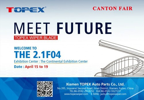 TOPEX Waiting For You At The 121st Canton Fair