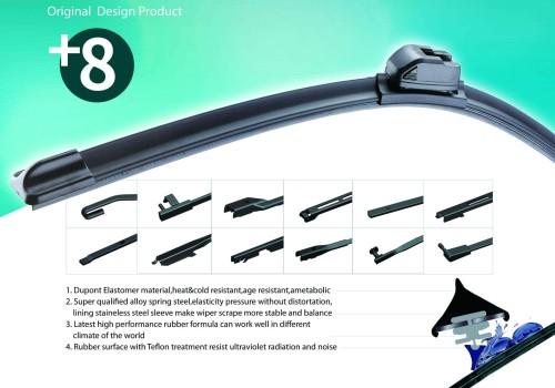 T-X8-C Multifunctional Wiper Blade Shocking Struck