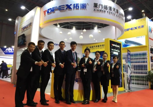Topex hot the Automechanika shanghai Fair in 2017