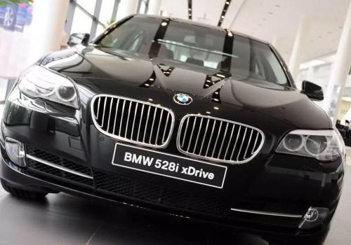 BMW 528i wiper fault.
