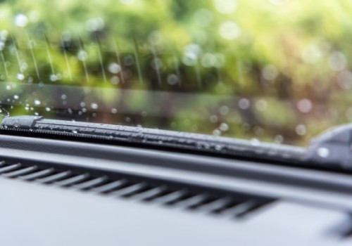 What's the reason that the car wipers can't get water?