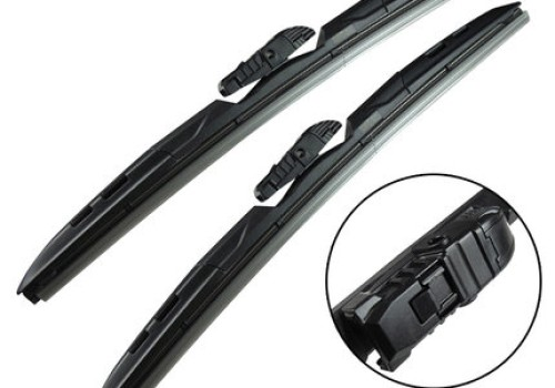 Three-section soft flat /metal wiper blade ( 4 in 1)