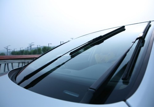 Wiper blades can't brush anything