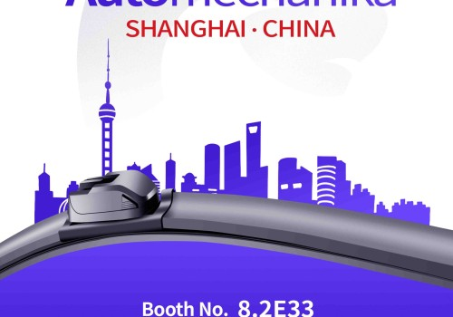 Joins you in Shanghai with new products !