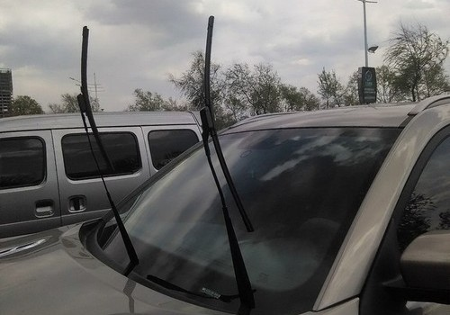 Maintain good condition of wiper blades