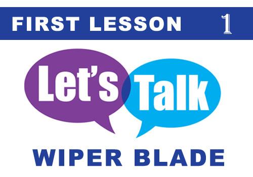 TALK wiper blade 1