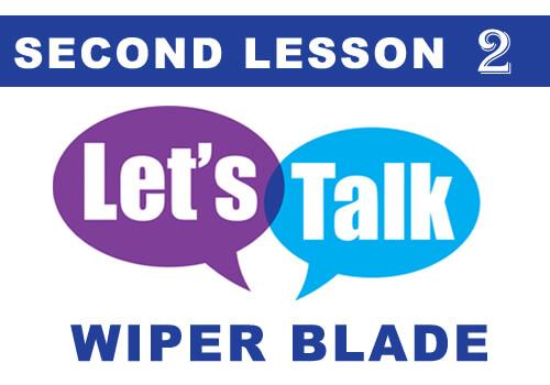TALK wiper blade 2