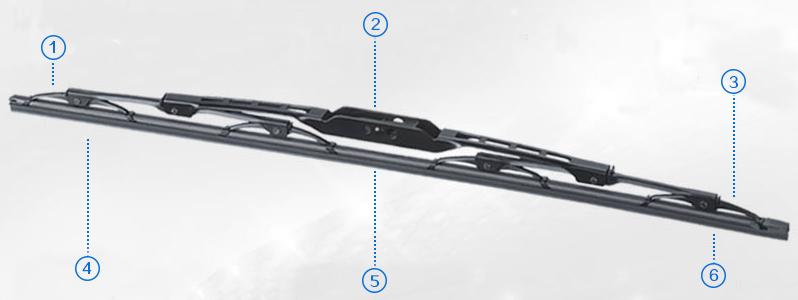 Metal wiper blade1