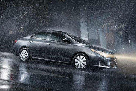 Rainy days drive